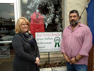 COCO'S COTTAGE RECEIVES KPB GREEN RIBBON AWARD