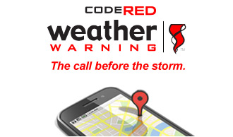 *Sign up for the FREE CodeRED Emergency Notification System