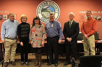 Pickens County Board of Commissioners January 2017