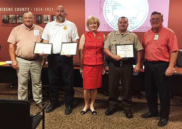 Pickens County Employee Recognitions