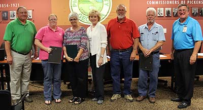 Pickens County Board of Commissioners September Meeting (Video)