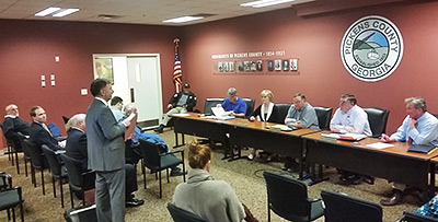 Pickens County Board of Commissioners Called Meeting (Video)