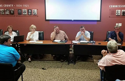 Pickens County Board of Commissioners Work Session & Called Meeting on Millage Rate (Video)