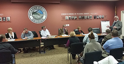 Pickens County Board of Commissioners Work Session (Video)
