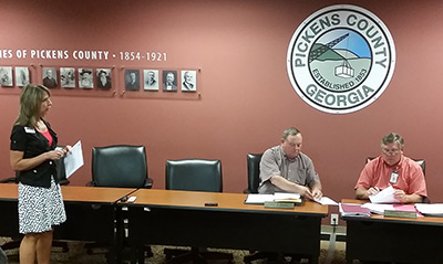 Pickens County Board of Commissioners June Work Session (Video)