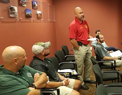 Pickens County Board of Commissioner Work Session August 2018