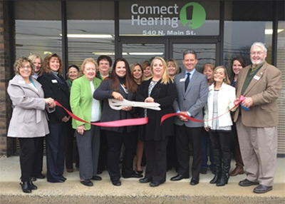 Connect Hearing / Progressive Audiology Ribbon Cutting Ceremony