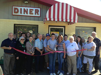 Pickens County Chamber Recognizes Cora's Country Diner with a Ribbon Cutting