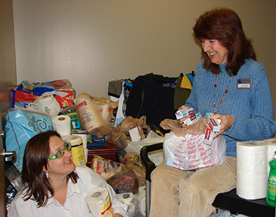 Chattahoochee Tech Donates Items to Pickens Cares