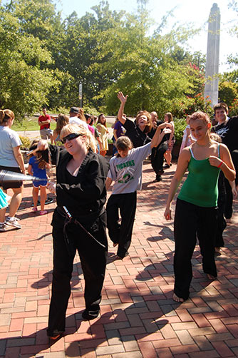 National Dance Day Celebrated in Downtown Jasper at Peace Park