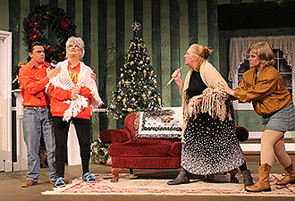 Tater Patch Players Production of Dashing Through The Snow Opening this Week