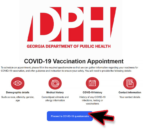 North Georgia COVID-19 Vaccination Registration Switches to  DPH Online Portal