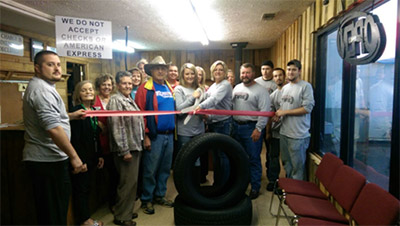 Pickens County Chamber of Commerce Welcomes New Member Discount Tire with a Ribbon Cutting