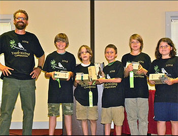 YOUTH BIRDING COMPETITION SEES, HEARS MOST SPECIES EVER