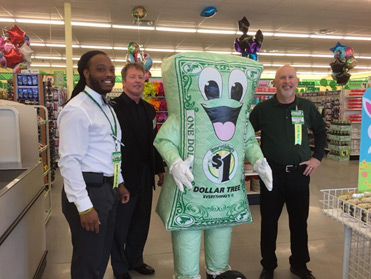 Dollar Tree's Ribbon Cutting Ceremony
