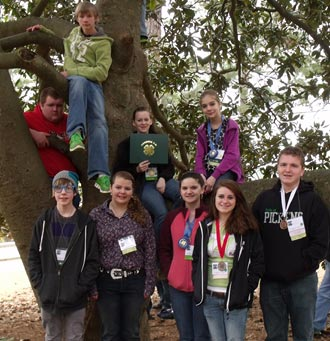 Pickens County 4-H'ers Compete at DPA