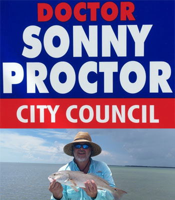 Doctor Sonny Proctor Announces Candidacy for Re-Election to Jasper City Council