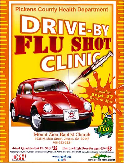 Arm Against the Flu with the Drive-by Flu Shot Clinic