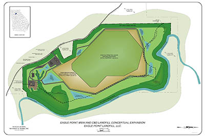 Forsyth Landfill expansion may threaten Etowah River