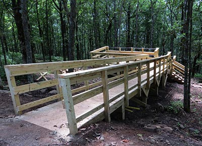 Eagle's Rest Outdoor Classroom and Observation Platform Complete