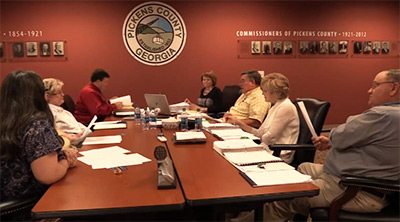 Pickens County Board of Elections and Registration 2015 Budget Meeting (Video)