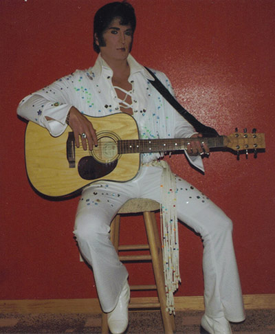 Elvis Tribute Artist at Old Tate Gym