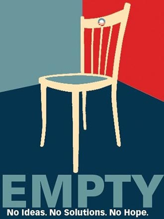 THE TEA PARTY AND AN EMPTY CHAIR ON PARADE