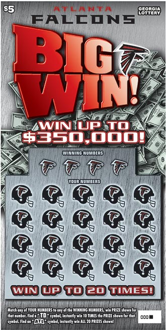 Georgia Lottery announces new Atlanta Falcons-themed game