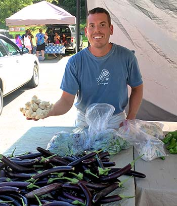 Jasper Farmers Market Every Wednesday & Saturday Through September
