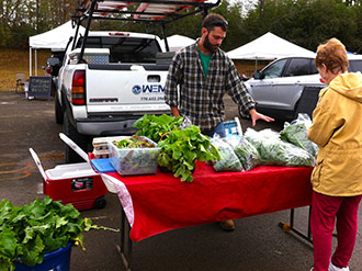 Jasper Farmers Market - Chilly But Worth the Trip