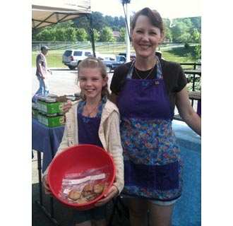 Young Entrepreneurs at the Jasper Farmers Market