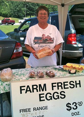 Smaller Jasper Farmers' Market Most Likely Due To PHS Graduation