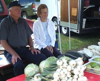 The Jasper Farmers Market will be at Sackett's July 2