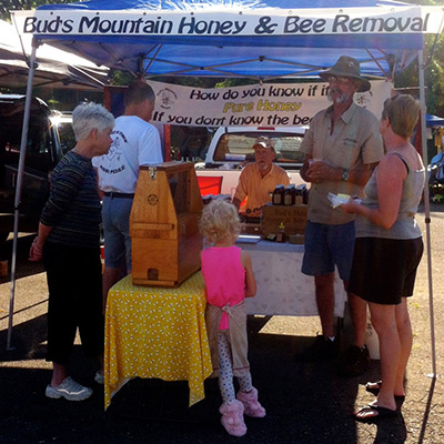 Plenty of Honey at the Jasper Farmers Market