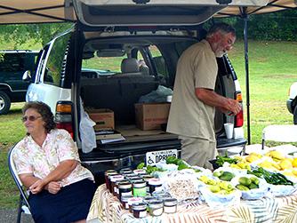 Corn and Tomatoes Plentiful at the Jasper Farmers' Market