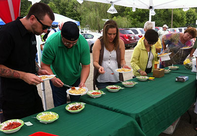Salsa Winners at the Jasper Farmers Market
