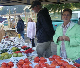 Chilly but Friendly Jasper Farmers Market