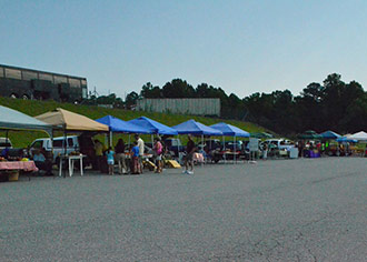 VOLUNTEERS FOR ANIMAL SHELTER OF PICKENS COUNTY INVITE YOU TO THE FARMERS MARKET AT SACKETTS ON JULY 6TH