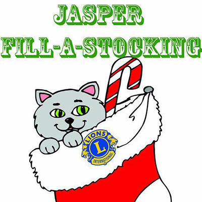 Jasper Lions Club Fill-A-Stocking Underway