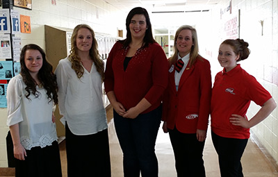 PHS Students Successful at the FCCLA Region Competition