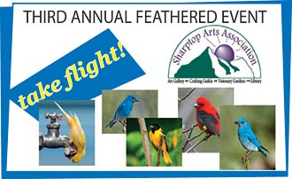 FEATHERED EVENT BIRDHOUSE APPLICATIONS ARE DUE NOW!