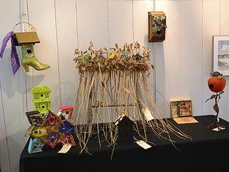Preview Bird Houses to be Auctioned at The Feathered Event