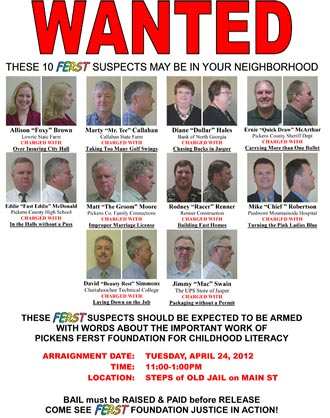 WANTED:  These 10 FERST Suspects May Be In Your Neighborhood