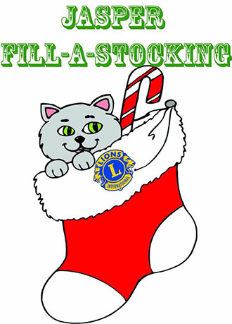 Jasper Lions Club Fill-A-Stocking Provided Christmas for 700 Children in 2012