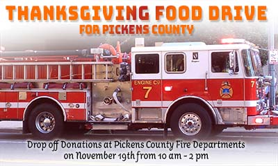 Pickens County Fire Stations Providing Thanksgiving To Area Families