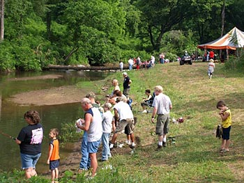 1400 Trout were caught at annual Fishing Rodeo
