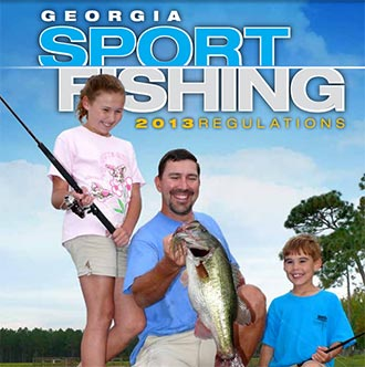 Georgia s 2013 fishing regulations now available for Fishing license georgia