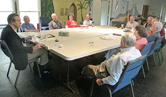 PICKENS FRIDAY MORNING DISCUSSION GROUP CELEBRATES 25TH ANNIVERSARY