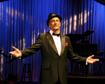 At the Tater Patch Players Theater:  Happy Birthday, Frank Sinatra!