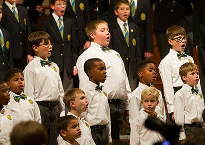 Georgia Boy Choir Festival in Atlanta Open to Boys 3rd through 12th grade